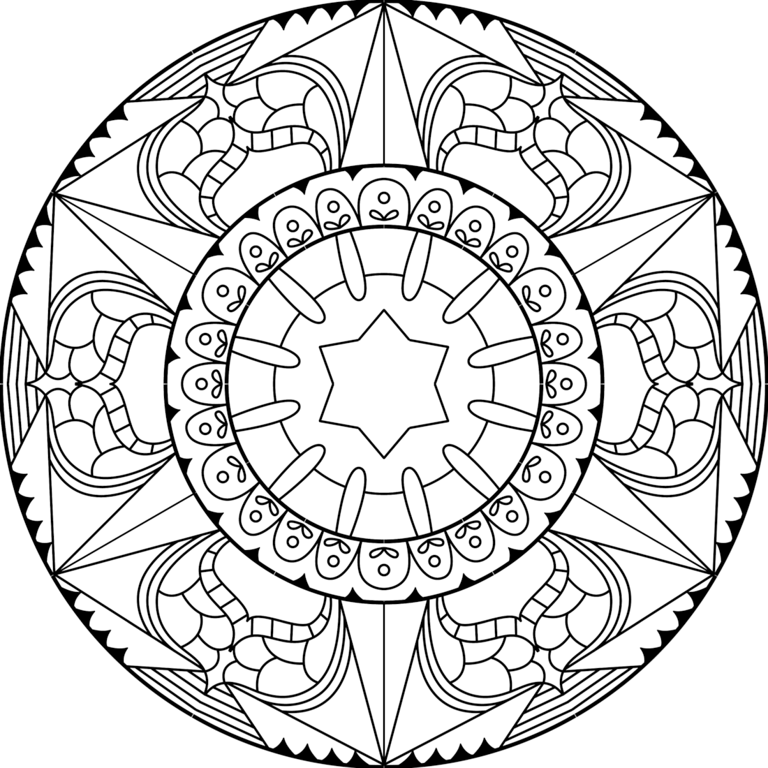 Picture of Badge of Honor coloring page
