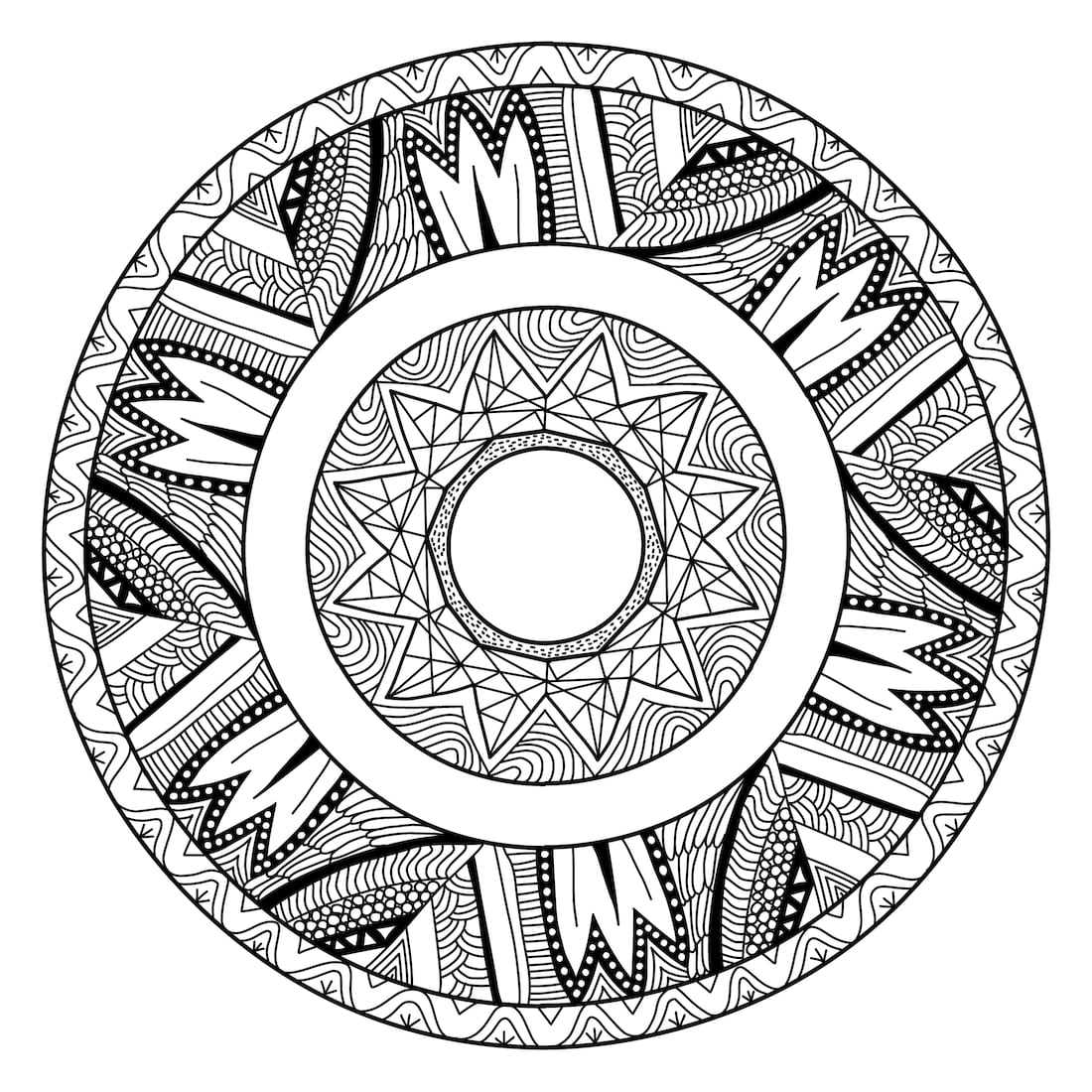 Picture of Basket Weaving coloring page