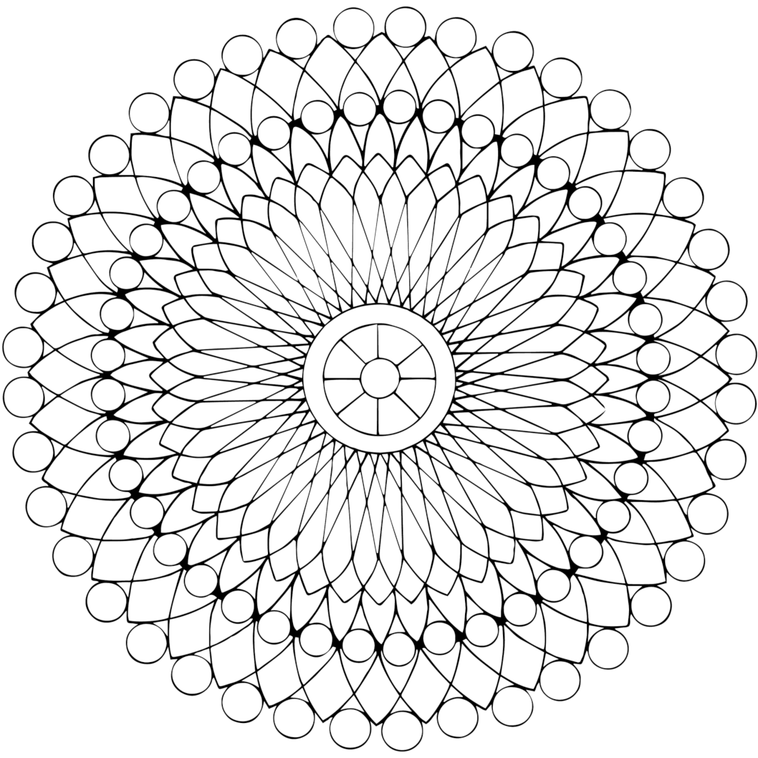 Picture of Beading coloring page