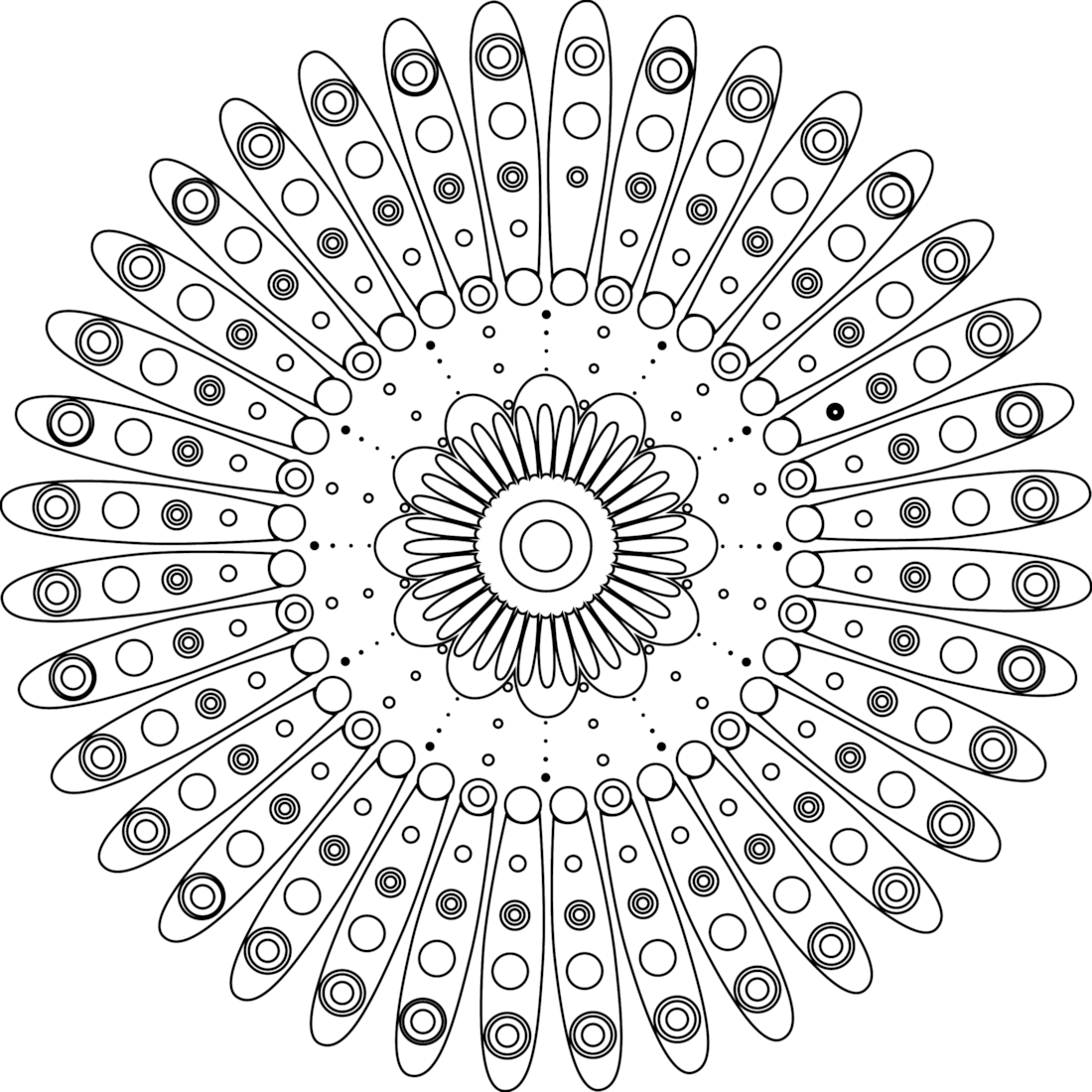 Picture of Beautiful Inside coloring page