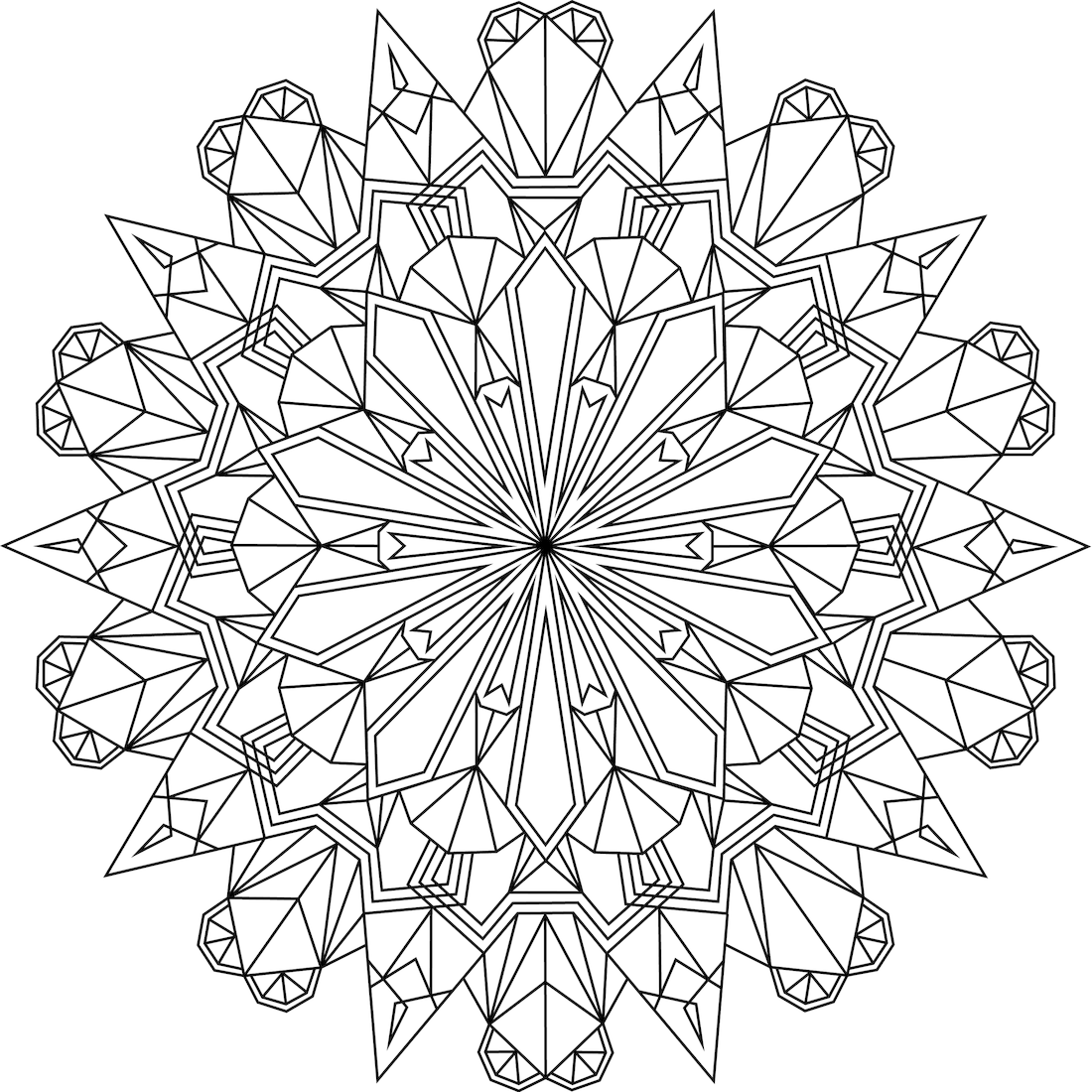 crystal coloring pages Crystal Morning Coloring Page crystal coloring pages