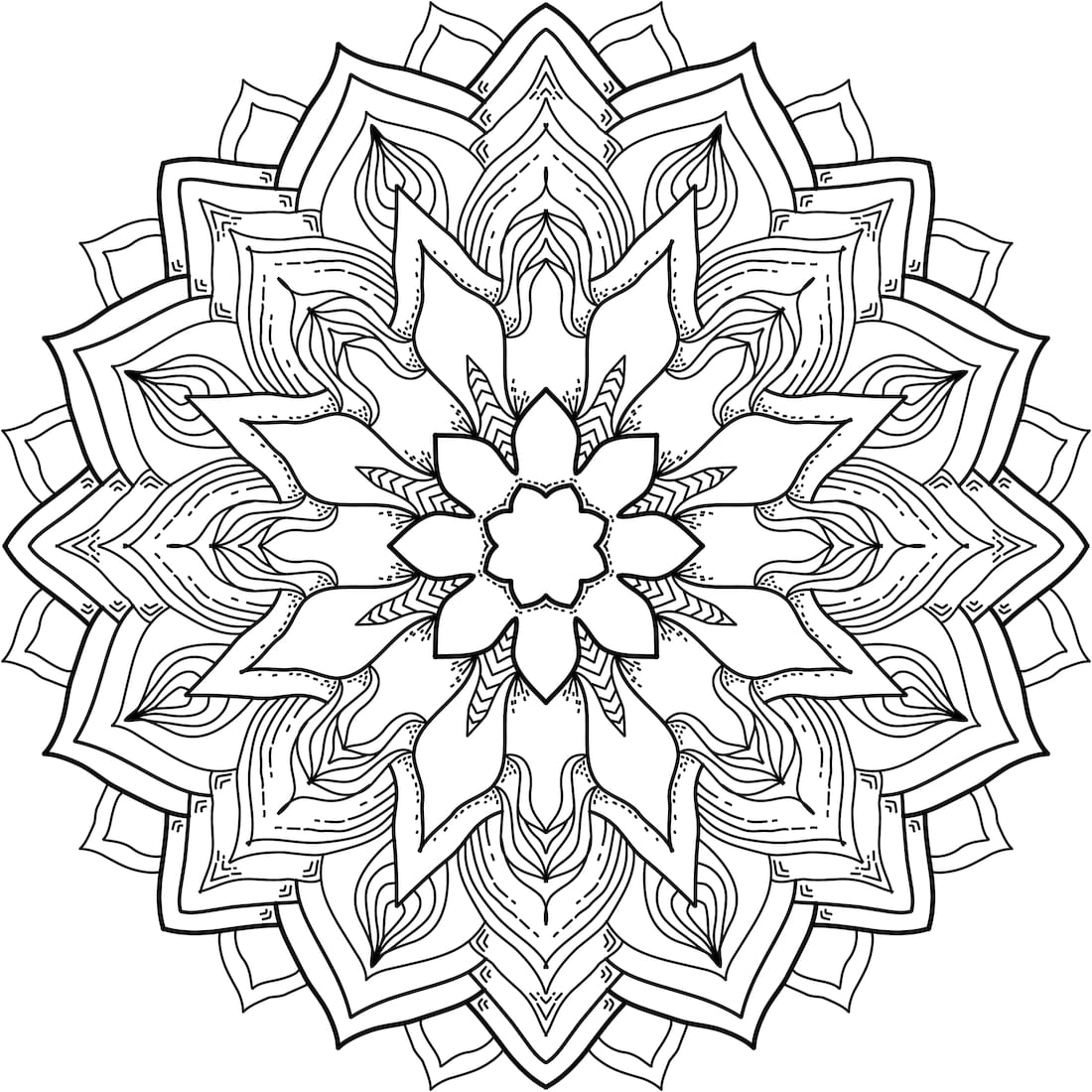 flower power coloring pages - photo#9