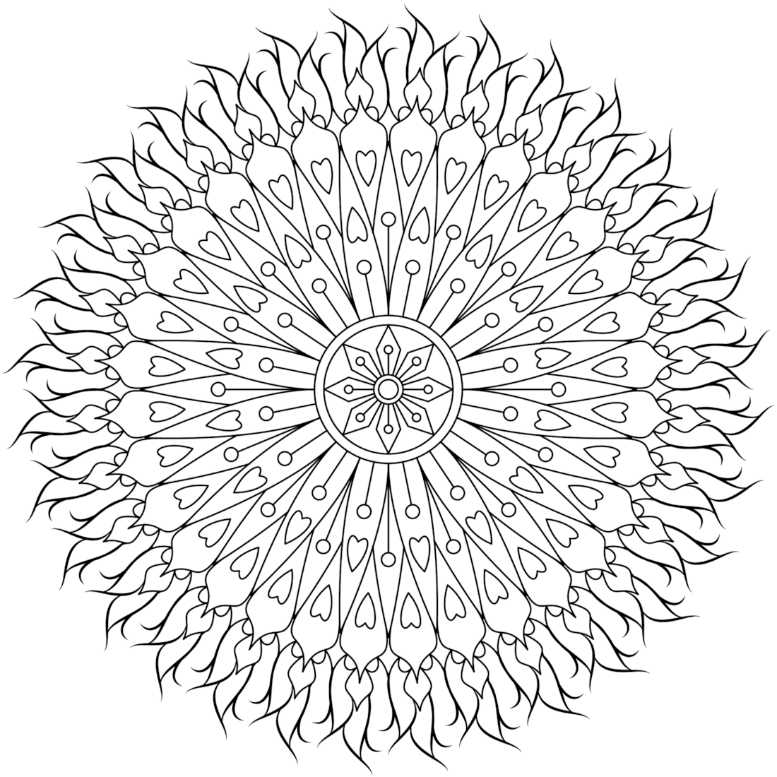 Healing Touch Coloring Page