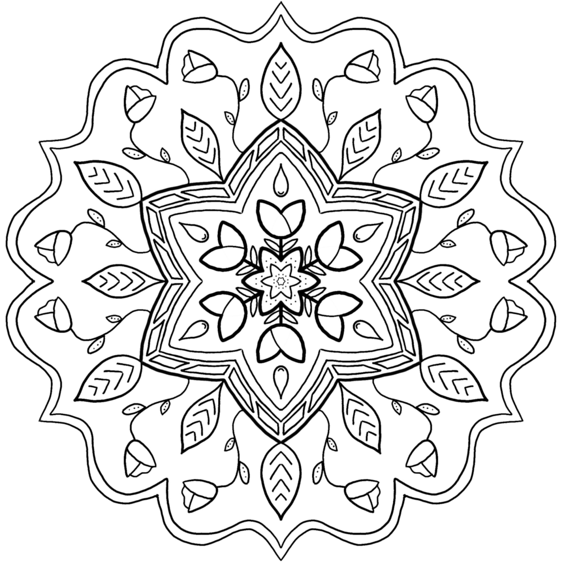 Picture of Ivy League coloring page