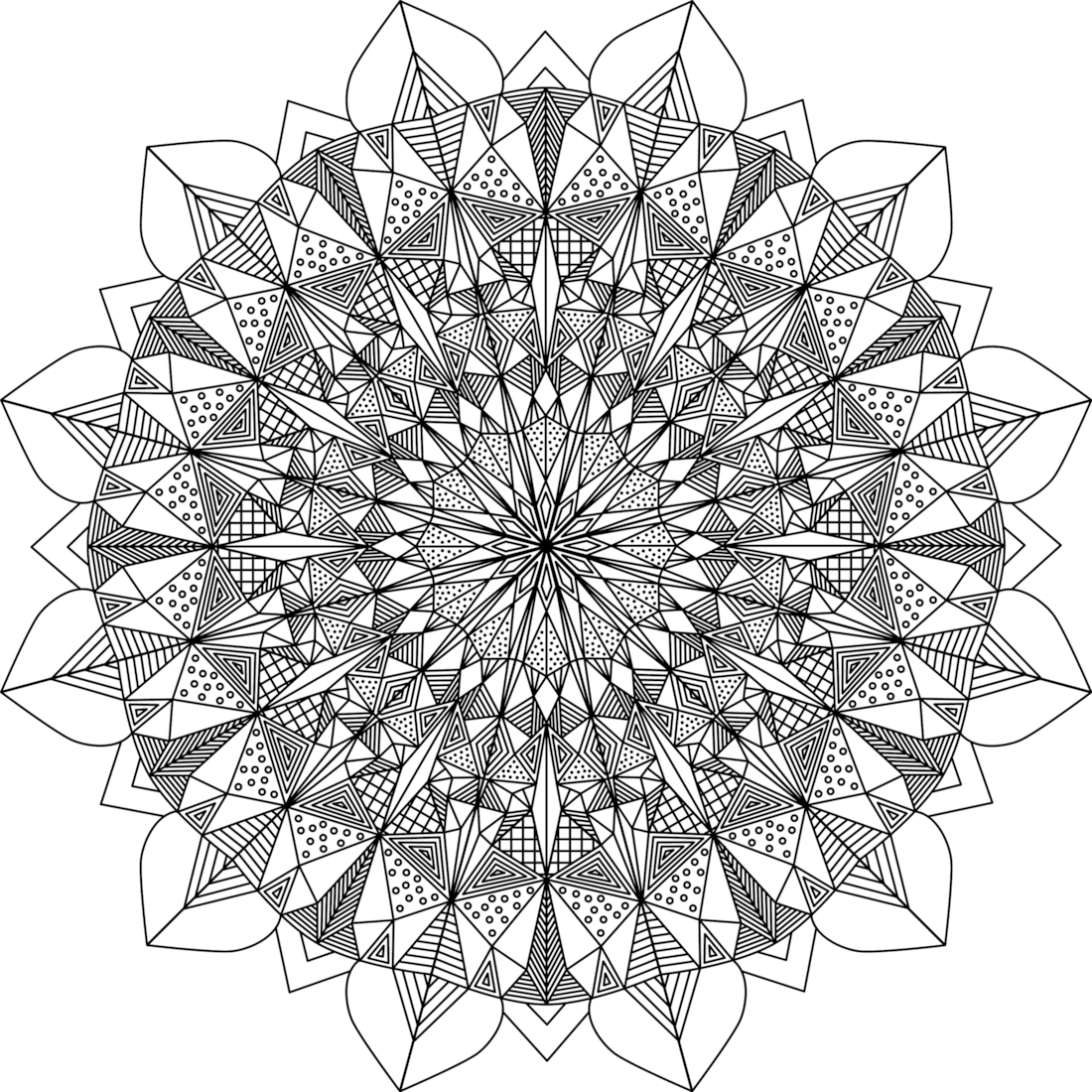 Lion 39 s pride coloring page for Lion mandala coloring pages