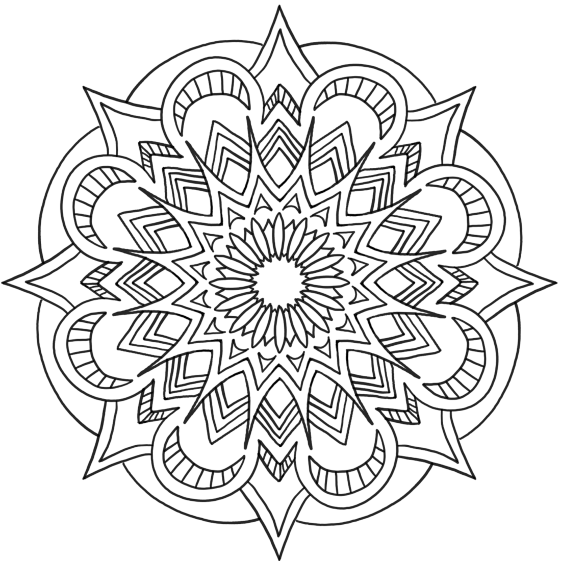 Picture of Lucky Day coloring page