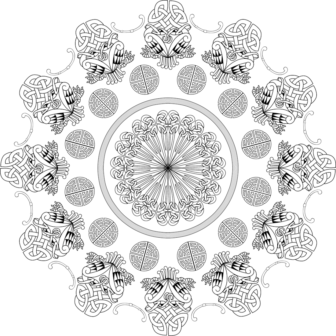 Picture of Pratimoshka Promise coloring page