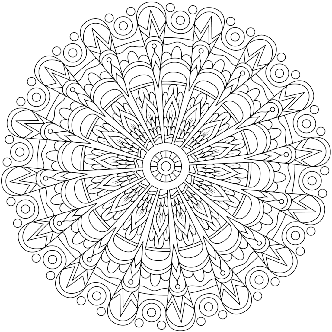 Picture of Rebellious Heart coloring page