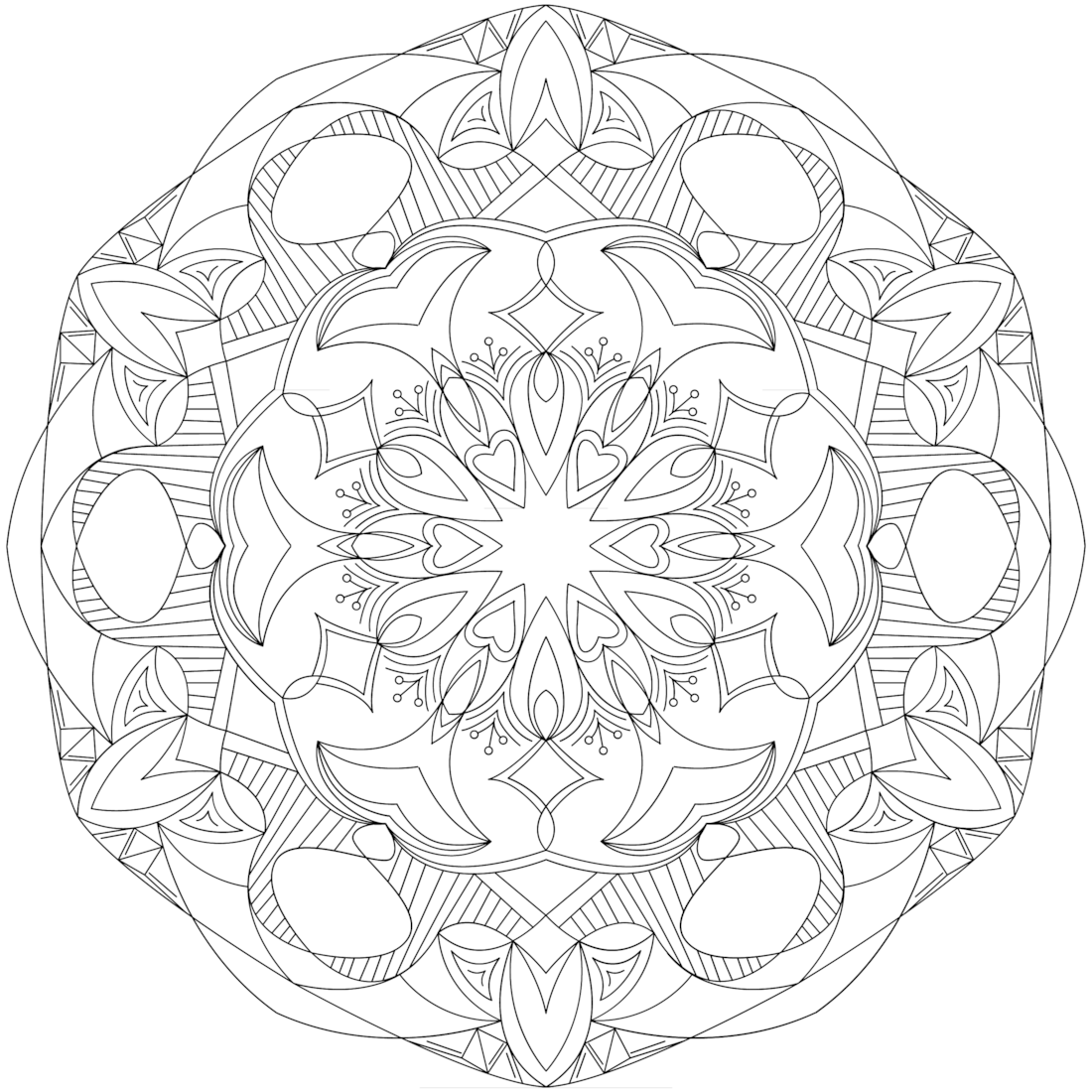 Picture of Rolling Tide coloring page