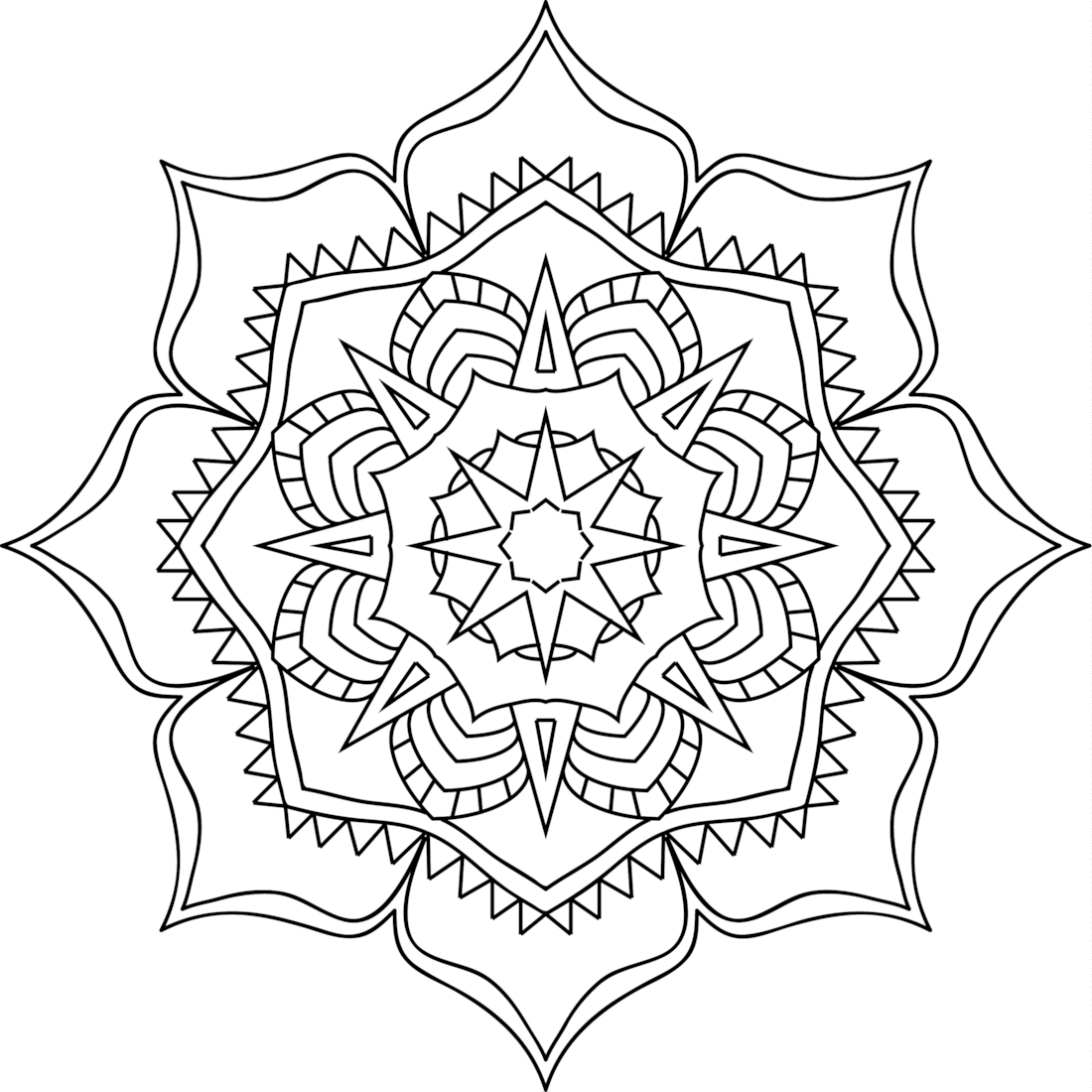 Picture of Simpler Times coloring page