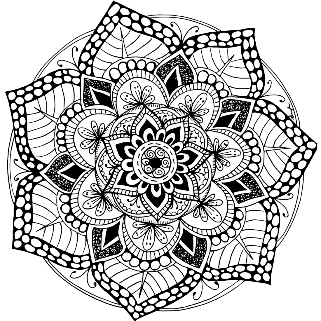 Picture of Well 18 coloring page
