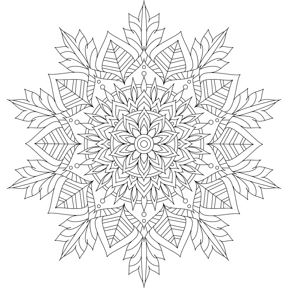 Picture of Winter Soul coloring page
