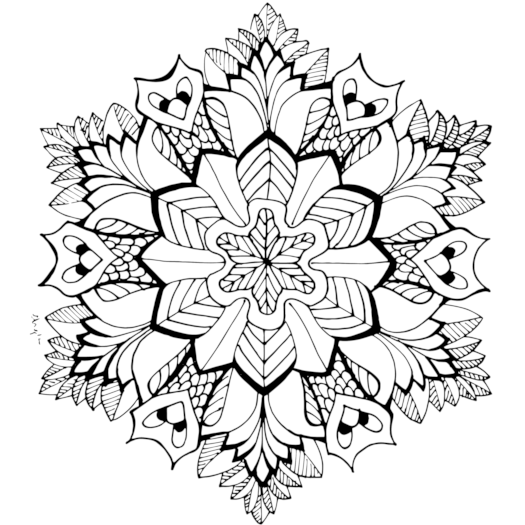 our mandalas - Free Coloring Pages To Print